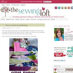 How to Create Scrap Binding