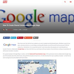 How To Create Shared Collaborative Google Maps - Flock