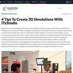 4 Tips To Create 3D Simulations With ITyStudio