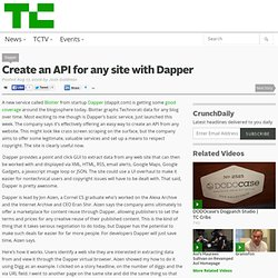 Dapper - RSS feeds