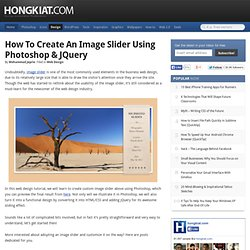 Create Image Slider (Photoshop & jQuery)