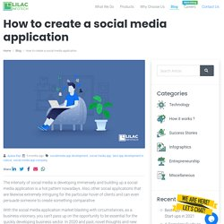 How to create a social media application