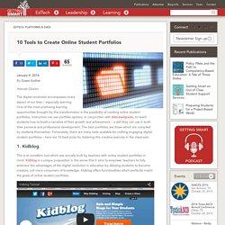 10 Tools to Create Online Student Portfolios