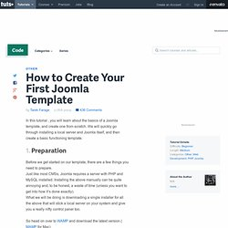 How to Create Your First Joomla Template - Nettuts+