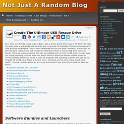 Create The Ultimate USB Rescue Drive « Not Just A Random Blog