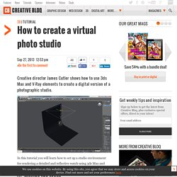 How to create a virtual photo studio
