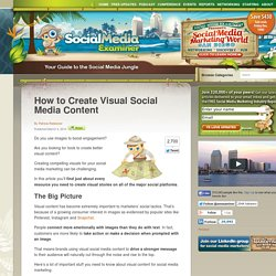 How to Create Visual Social Media Content