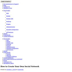 How to Create Your Own Social Network - Blog