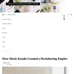 How Marie Kondo Created a Decluttering Empire