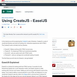 Using CreateJS - EaselJS