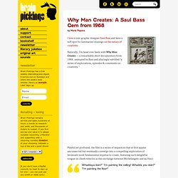Saul Bass: Why Man Creates (1968)