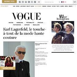 créateur de génie de Chanel et de la collection Karl Lagerfeld