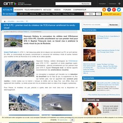 GTA 5 PC : premier mod du créateur de l'ICEnhancer améliorant le rendu visuel
