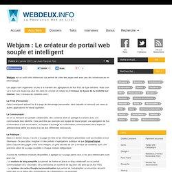 Webjam : Le créateur de portail web souple et intelligent