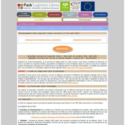 Pack Createur Logiciels libres
