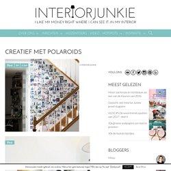 Creatief met polaroids - INTERIOR JUNKIE