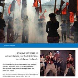 Creatieve workshops en Cultuureducatie vanuit Zwolle