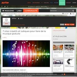 7 sites créatifs et ludiques pour faire de la musique gratuite
