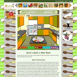 Build a Meal Game for Kids- Have Fun Creating Balanced Meals Virtual Food Game, Choose Healthy Foods for Meals and Snacks