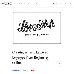 Creating a Hand Lettered Logotype from Beginning to End