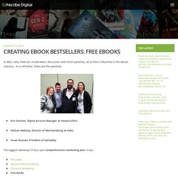 Creating eBook Bestsellers: Free eBooks