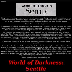 WOD - Seattle