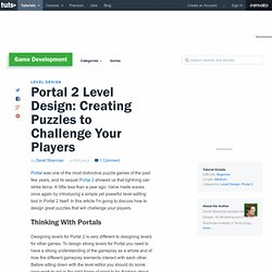 Portal 2 Level Design: Creating Puzzles to Challenge Your Players