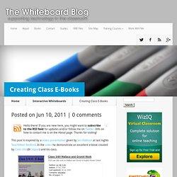 Creating Class E-Books
