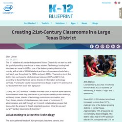 Creating 21st-Century Classrooms in a Large Texas District