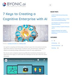 7 Keys to Creating a Cognitive Enterprise with AI - Byonic