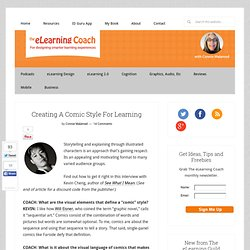 Creación de un estilo cómico para el aprendizaje: El Coach eLearning