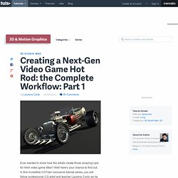 Creating a Next-Gen Video Game Hot Rod: the Complete Workflow: Part 1 - Tuts+ 3D & Motion Graphics Tutorial