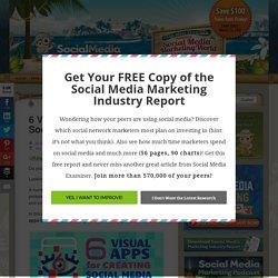 6 Visual Apps for Creating Social Media Content : Social Media Examiner