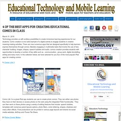4 of The Best Apps for Creating Educational Comics in Class