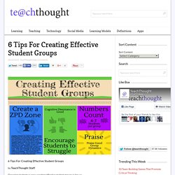 6 Tips For Creating Effective Student Groups
