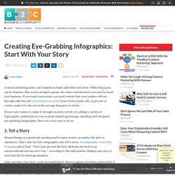 Creating Eye-Grabbing Infographics: Start With Your Story