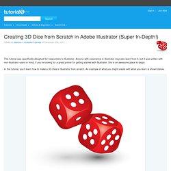 Creating 3D Dice from Scratch in Adobe Illustrator (Super In-Depth!)