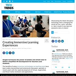 Creating Immersive Learning Experiences - AR/VR Journey: Augmented & Virtual Reality Magazine