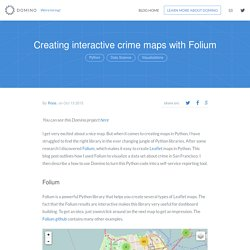 Creating interactive crime maps with Folium