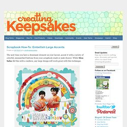 Creating Keepsakes Blog