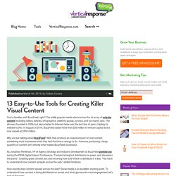 13 Easy-to-Use Tools for Creating Killer Visual Content