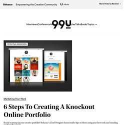 6 Steps To Creating A Knockout Online Portfolio