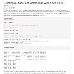 Creating a Leaflet choropleth map with a pop-up in R