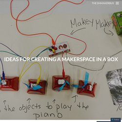 Ideas for creating a makerspace in a box