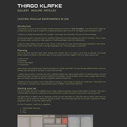 Modular Environments - Thiago Klafke