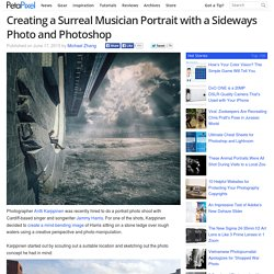 Creating a Surreal Musician Portrait with a Sideways Photo and Photoshop