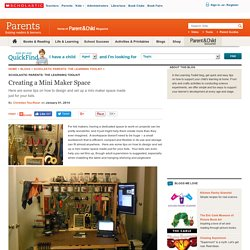 Creating a Mini Maker Space