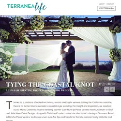7 tips for creating the perfect seaside wedding - TerraneaLife