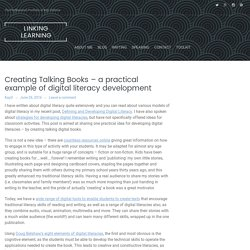 Creating Talking Books – a practical example of digital literacy development – Linking Learning