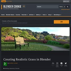 Creating Realistic Grass in Blender